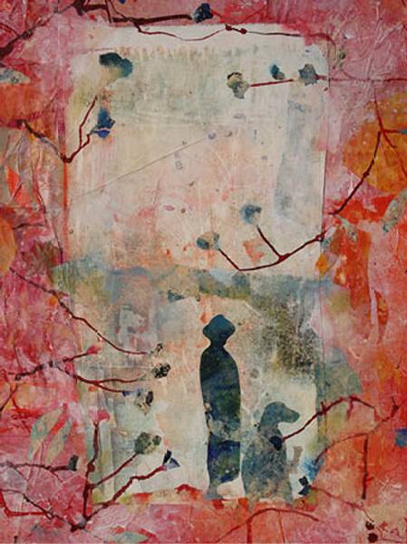 Bilde av Maud Bugge kunstkort TOGETHER ALONE